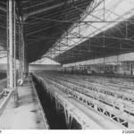 Extérieur du dépôt de Lagny a l'époque des tramways
