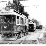 Motrice B de tramway-ligne 108 Champigny-Nogent-Porte de Vincennes en circulation