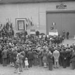 Inauguration de la plaque aux résistants du dépôt de Lagny