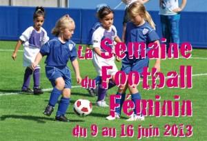 La semaine du football féminin 2013